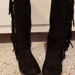Girl's Blak swade boots